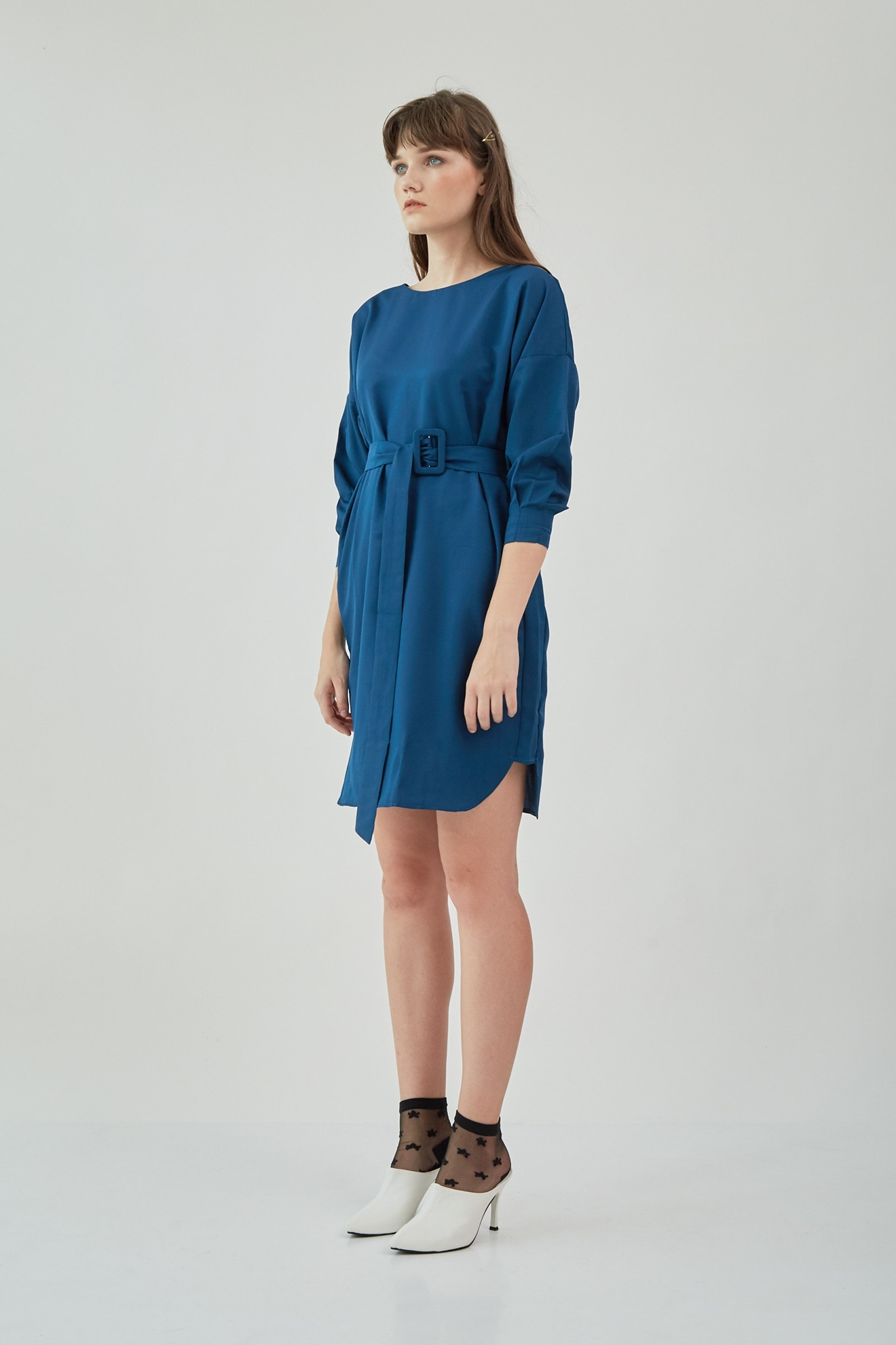 Picture of Tishi Dress BluePeacock