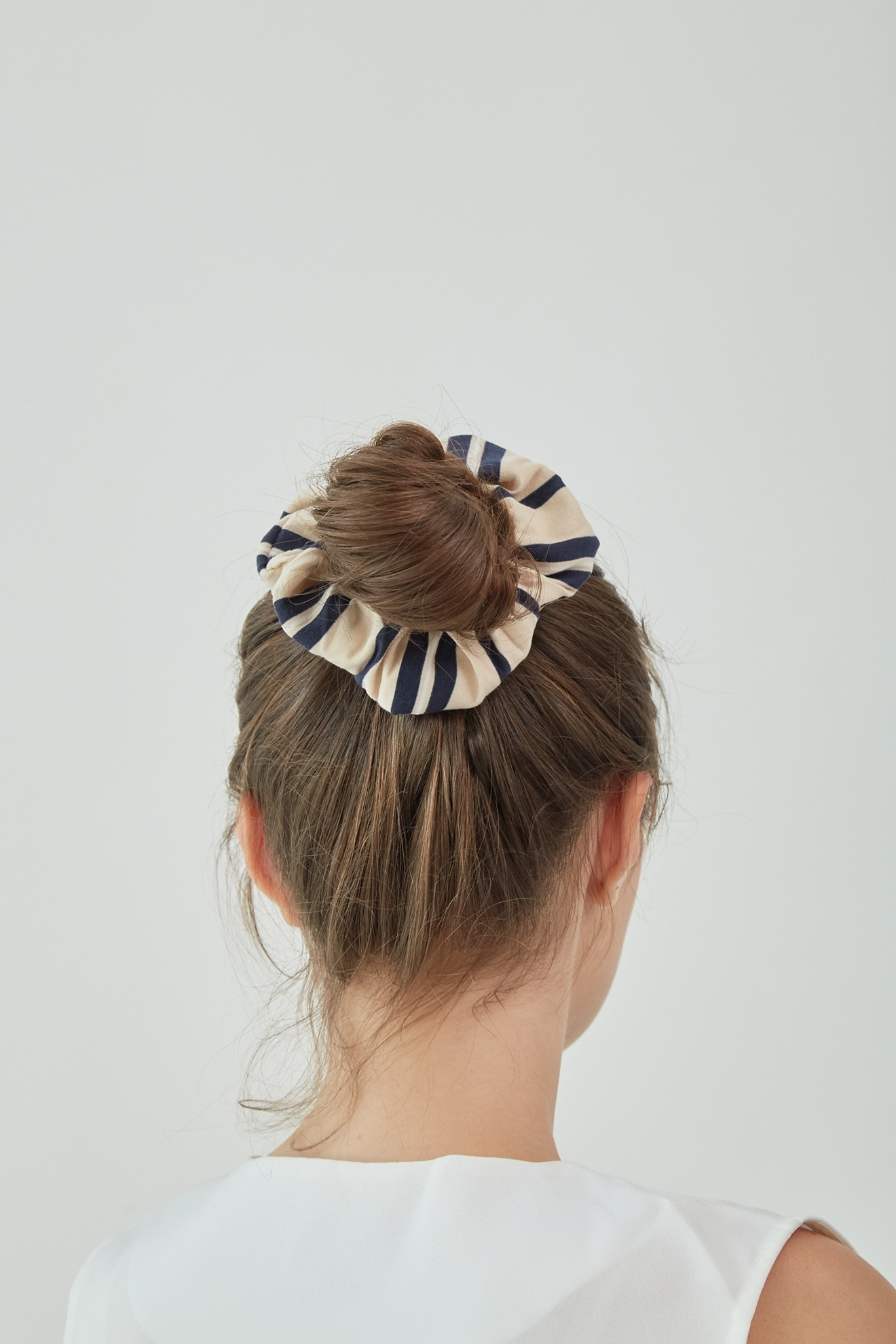 Picture of Scrunchies Navystripes